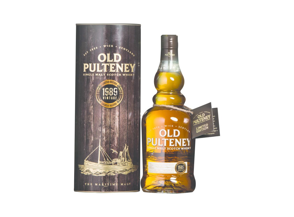 Old Pulteney Vintage 1989 Single Malt Scotch Whisky